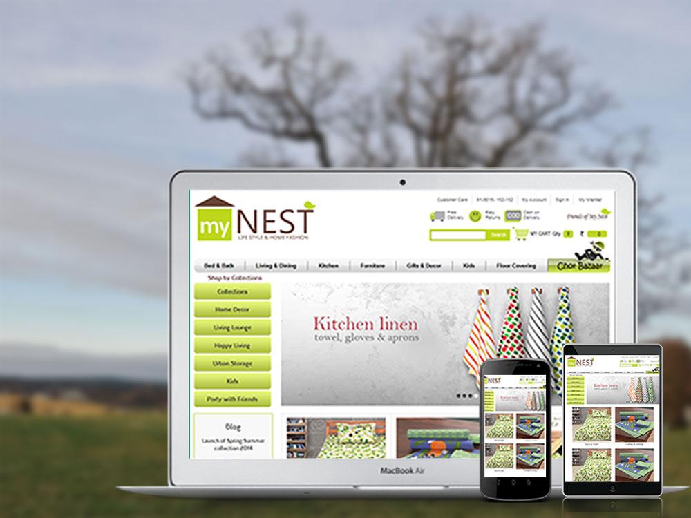 MyNest Responsive Magento Websites