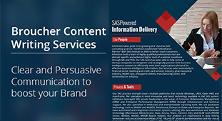 Brochure Content Writing Services