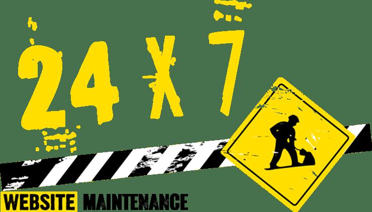 24x7 Website Maintenance Services Bangalore