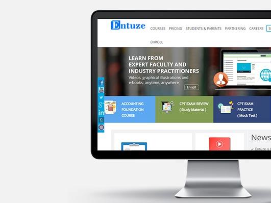 Education Training Website Development