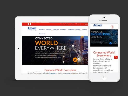 Wireless Communication Website Development