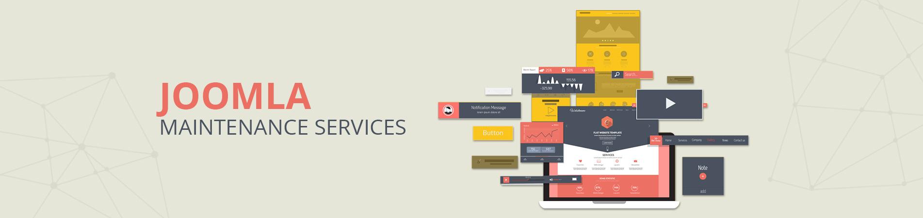 Joomla Website Maintenance Services Bangalore
